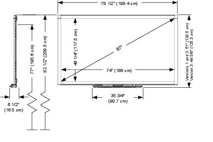 SMART Board 885 specifications - SMART TechnologiesSMART Support - SMART Technologies